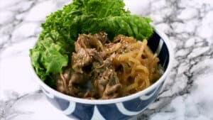 Shogayaki Donburi Recipe