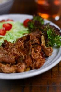 shogayaki Japanese ginger pork