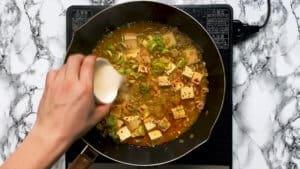 Mapo tofu cornstarch