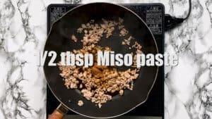 Mabo tofu miso