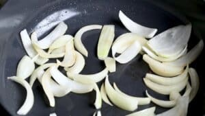 soften the onions