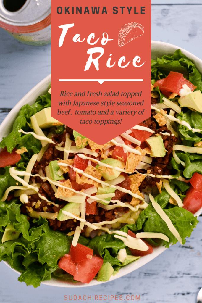 Okinawa Style Taco Rice