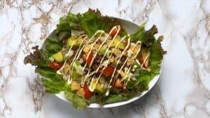 Taco rice bowl mayo