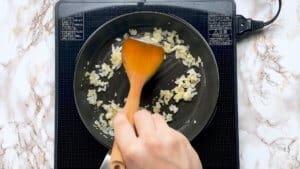 Taco rice garlic and onion