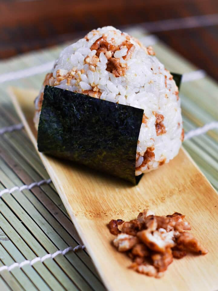 Chicken Onigiri rice ball