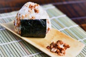Chicken Onigiri rice ball