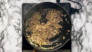 Japanese spaghetti meat sauce mince meat