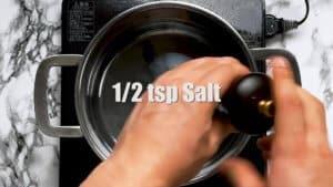 Soupless ramen abura soba salt