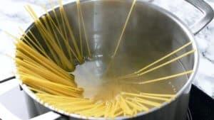 Spaghetti meat sauce pasta