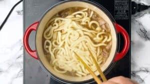 break the udon apart
