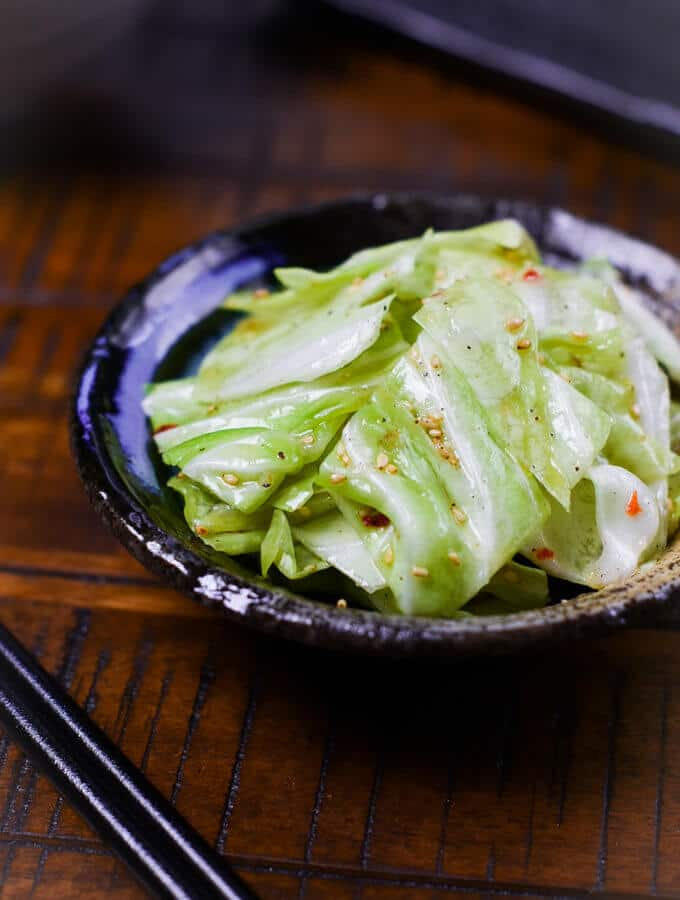Izakaya Salted Cabbage