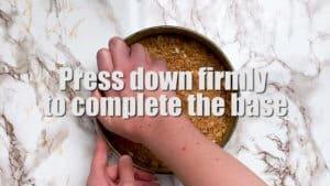 rare cheesecake base