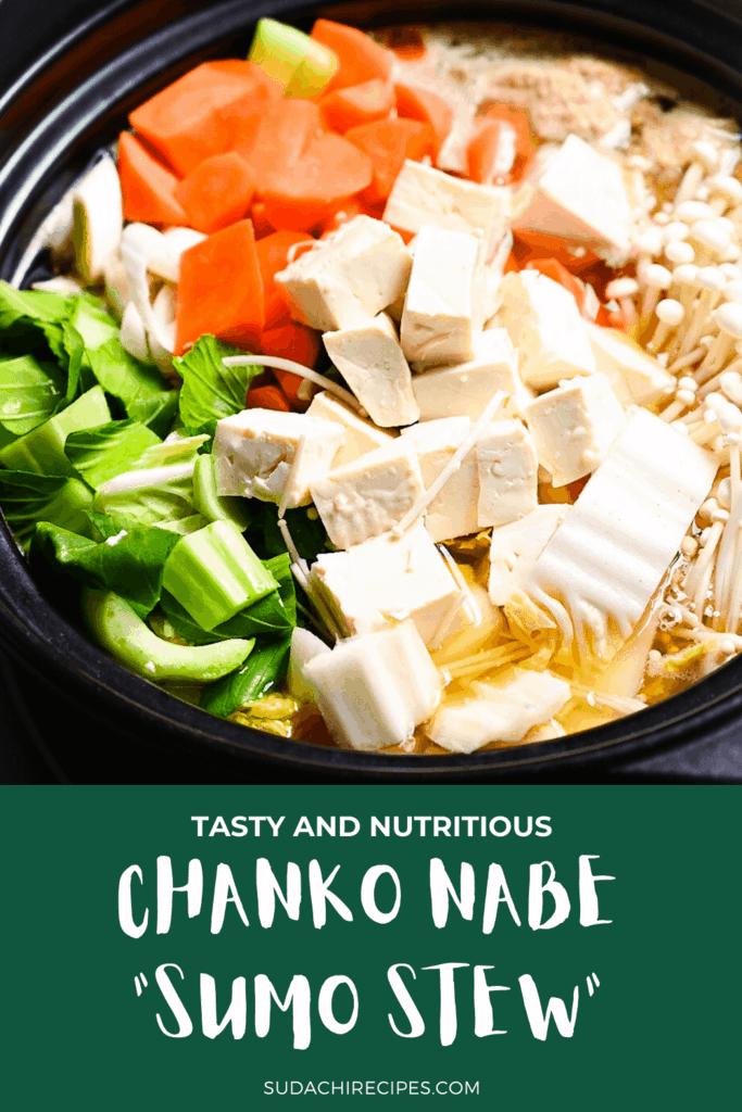 """Chanko nabe """"sumo stew"""""""
