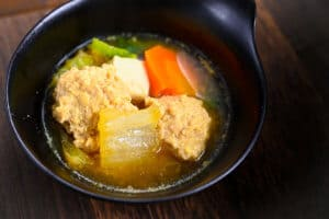 Chanko nabe in small bowl