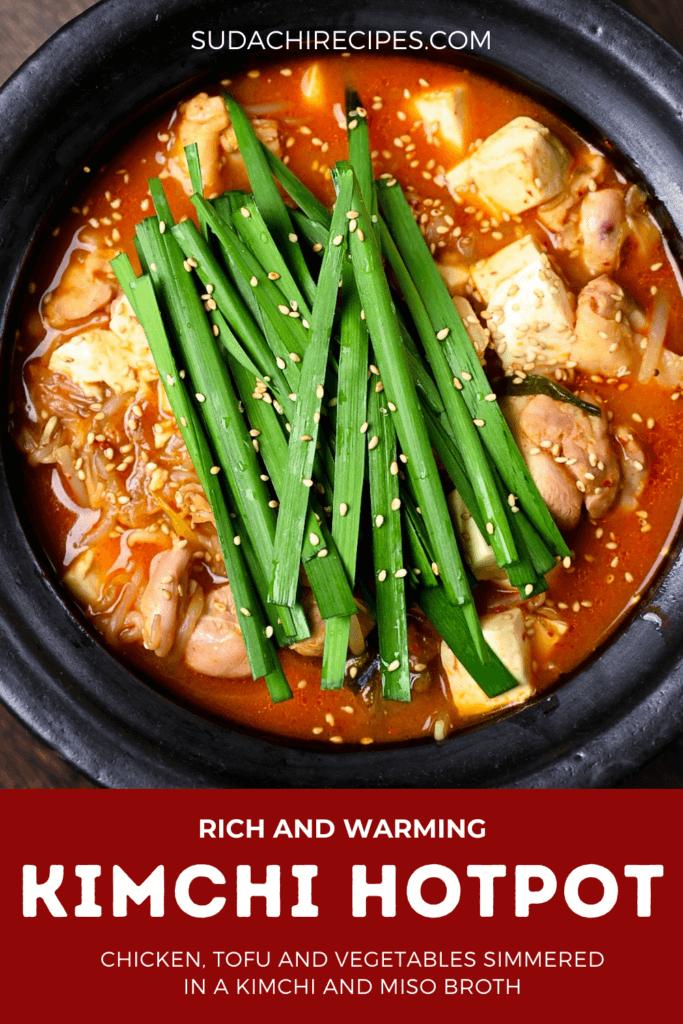 kimchi nabe hot pot