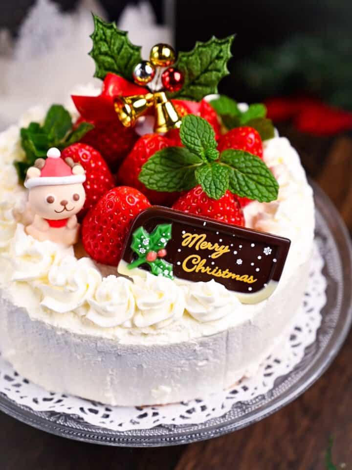 Japanese Christmas Cake Strawberry Shortcake