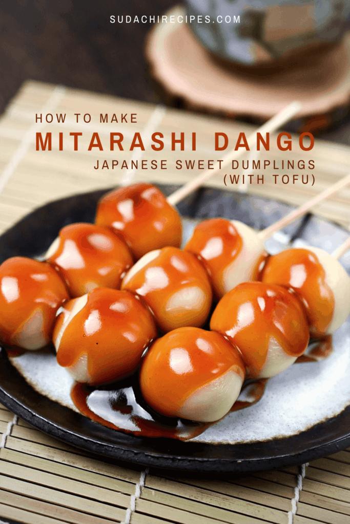 How to make mitarashi dango