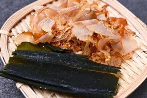 kombu and katsuobushi