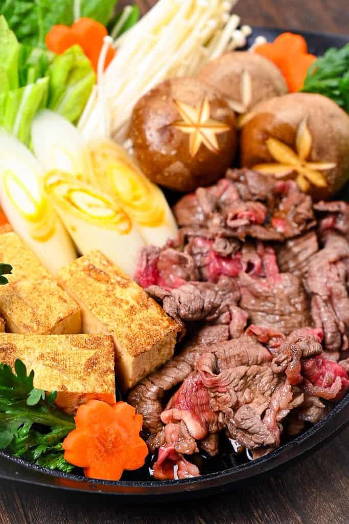 Sukiyaki Japanese Beef Hot Pot