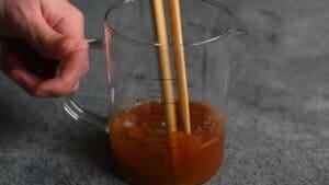 smooth mixed kurozuan sauce