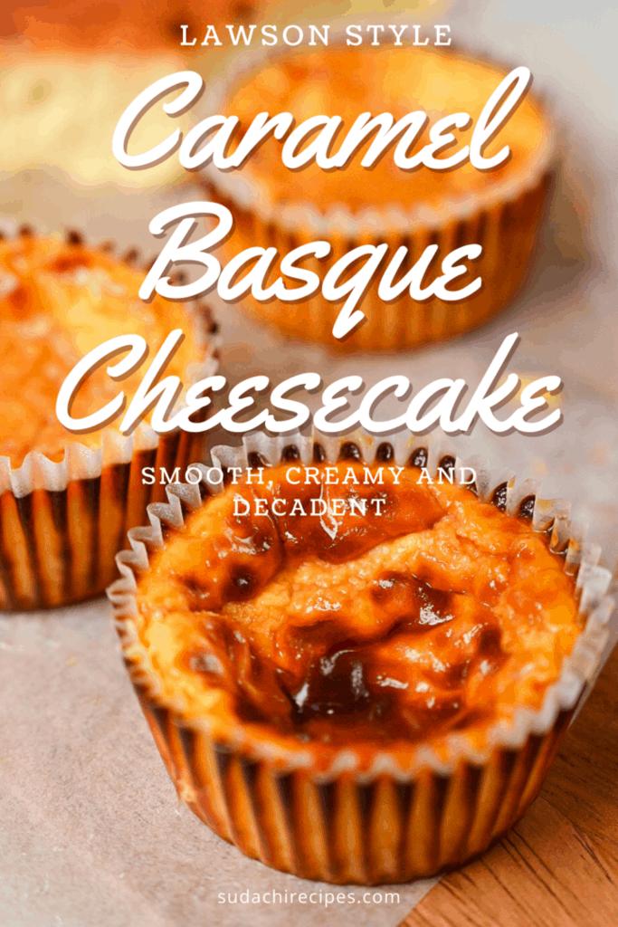 Caramel Basque Cheesecake
